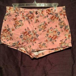 Forever 21 Flowered Shorts